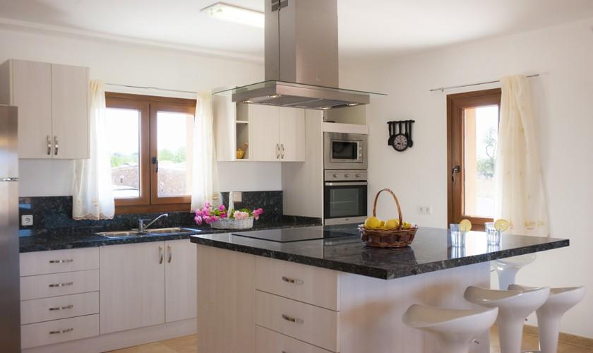 Küche Finca Mallorca Südosten PM 6528