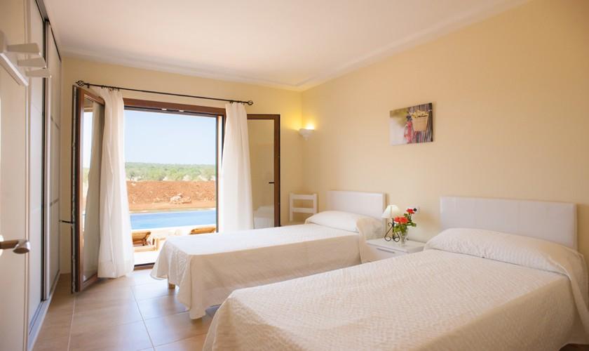Schlafzimmer Finca Mallorca Südosten PM 6528