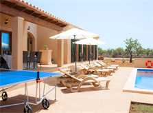Pool und Terrasse Finca Mallorca Südosten PM 6528