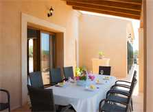 Terrasse Finca Mallorca Südosten PM 6528