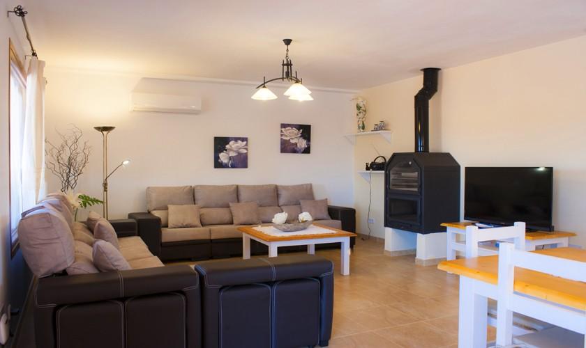 Wohnraum Finca Mallorca Südosten PM 6528