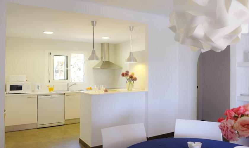 Küche Ferienhaus Mallorca Südosten PM 6529