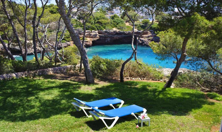 Garten und Meerblick Ferienhaus Mallorca PM 6529