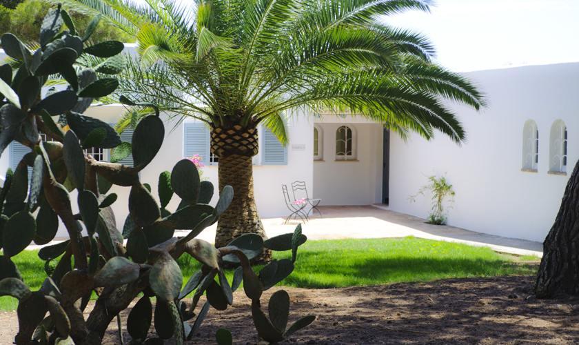Blick auf das Ferienhaus Mallorca Südosten PM 6529