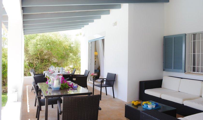 Terrasse Ferienhaus Mallorca Südosten PM 6529