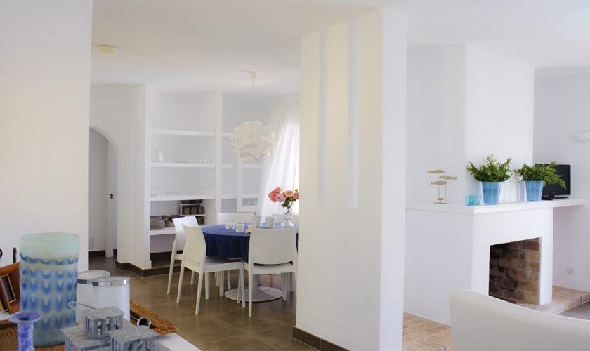 Wohnraum Ferienhaus Mallorca Südosten PM 6529
