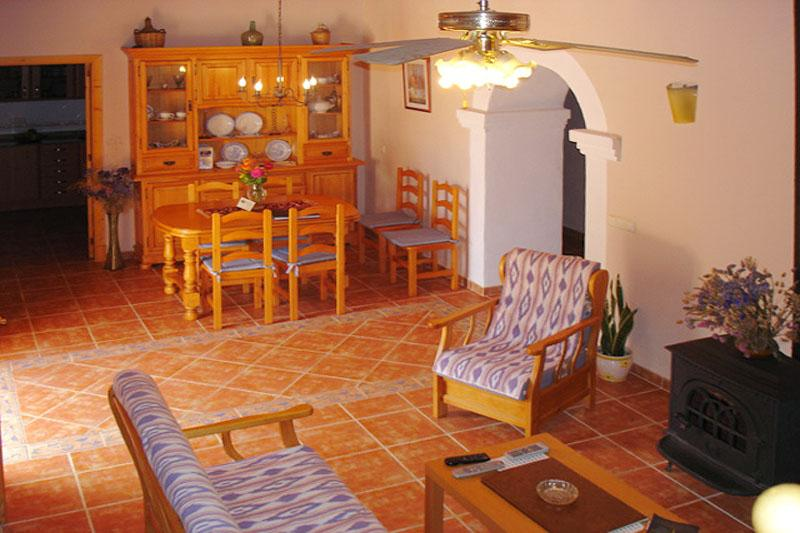 Essplatz Ferienfinca Mallorca Südosten für 8 Personen PM 652