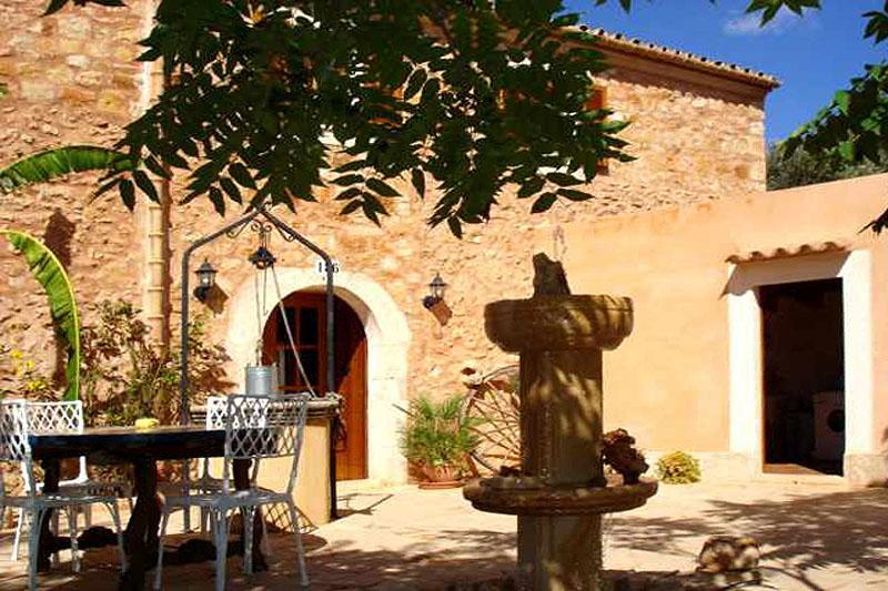 Blick auf die Finca Mallorca Südosten für 8 Personen PM 652