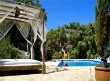 Pool und Terrasse der Finca Mallorca Südosten PM 652