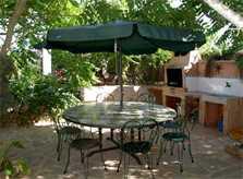 Terrasse Ferienfinca Mallorca Südosten für 8 Personen PM 652