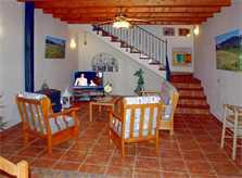 Wohnraum Ferienhaus Mallorca Südosten für 8 Personen PM 652