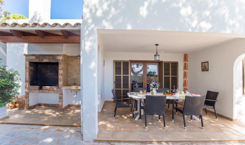 Grillplatz Ferienhaus Mallorca Strandnähe PM 6530