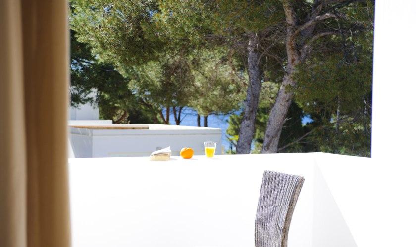 Terrasse oben Ferienvilla Mallorca Cala d´ Or PM 6531