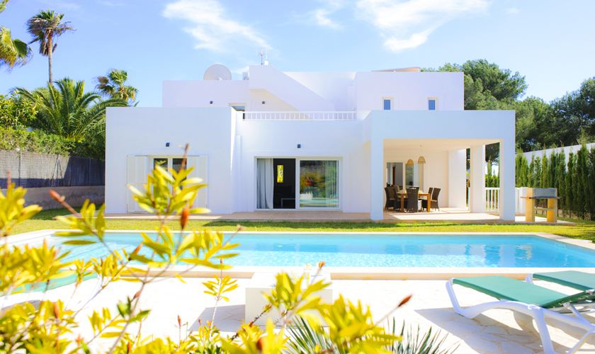 Pool und Villa Mallorca Cala d´ Or PM 6531