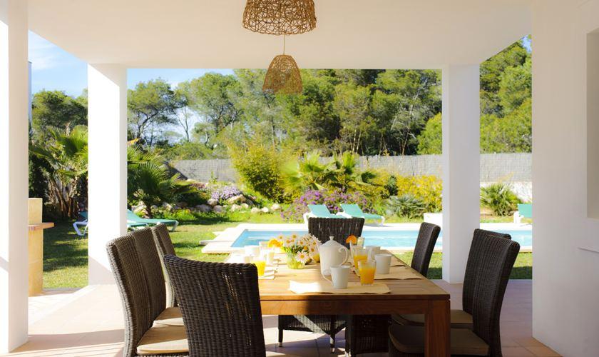 Terrasse Villa Mallorca Cala d´ Or PM 6531