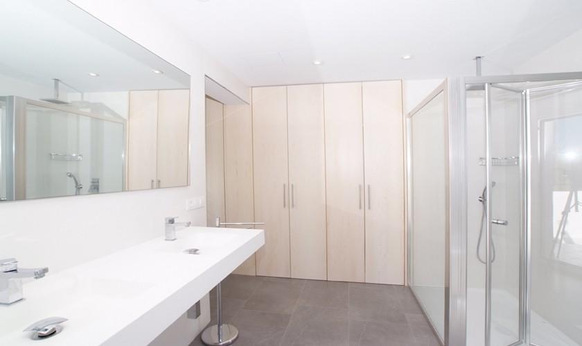 Badezimmer Ferienhaus Mallorca Cala d´Or PM 6532