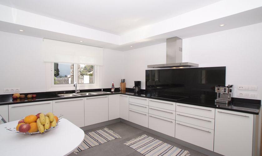 Küche Ferienhaus Mallorca Cala d´Or PM 6532