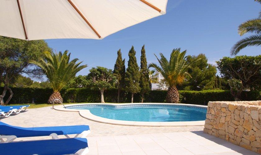 Poolblick Ferienvilla Mallorca Cala d´Or PM 6532
