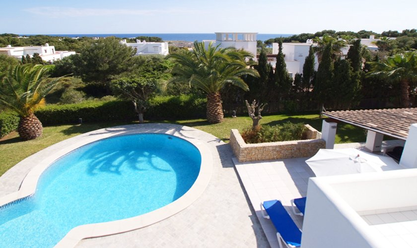 Pool und Garten Ferienhaus Mallorca Cala d´Or PM 6532
