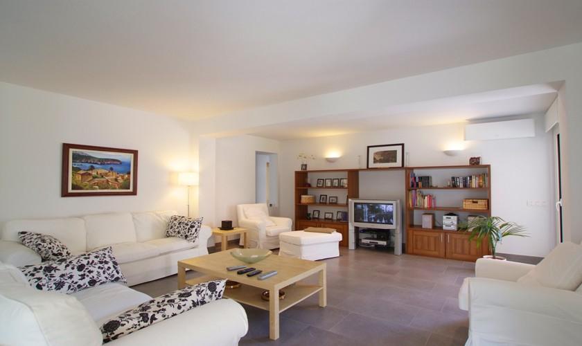 Wohnraum Ferienvilla Mallorca Cala d´Or PM 6532