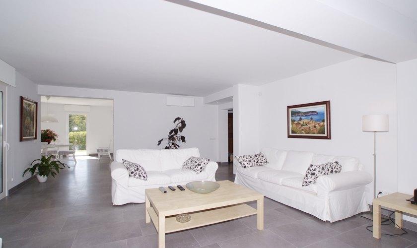 Wohnraum Ferienhaus Mallorca Cala d´Or PM 6532