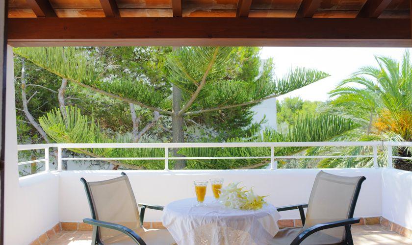 obere Terrasse Ferienhaus mit Pool Cala D'or PM 6533
