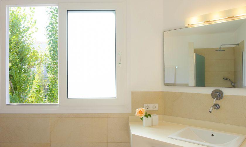 Badezimmer Villa Mallorca mit Meerblick PM 6534