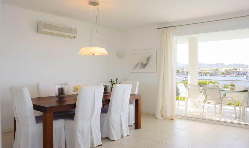 Essplatz Villa Mallorca mit Meerblick PM 6534