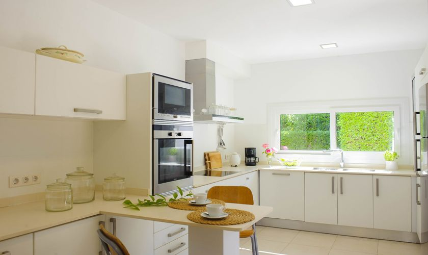Küche Villa Mallorca mit Meerblick PM 6534