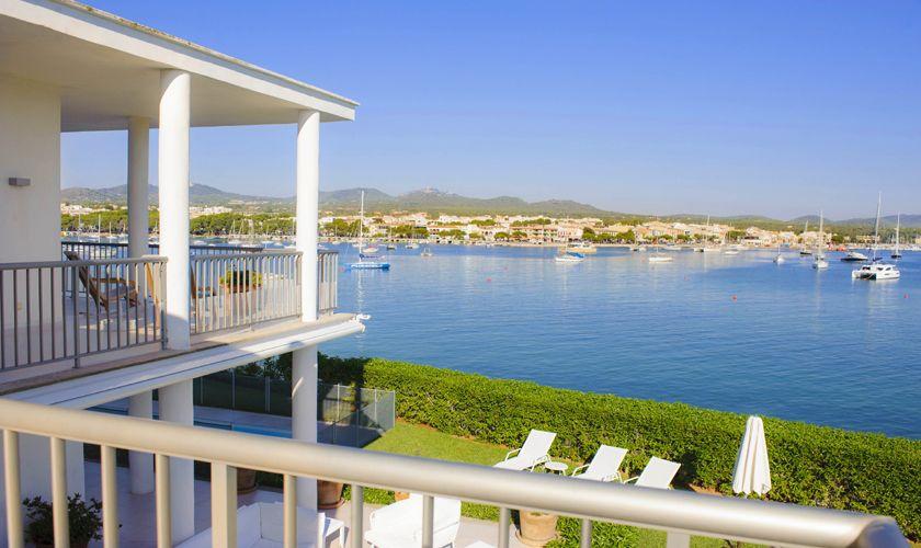 Terrasse und Meerblick Villa Mallorca PM 6534