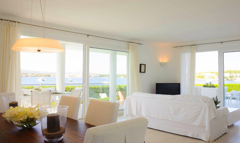 Wohnraum Villa Mallorca mit Meerblick PM 6534
