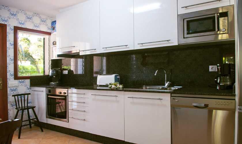 Küche Ferienvilla Mallorca Cala d´Or PM 6535