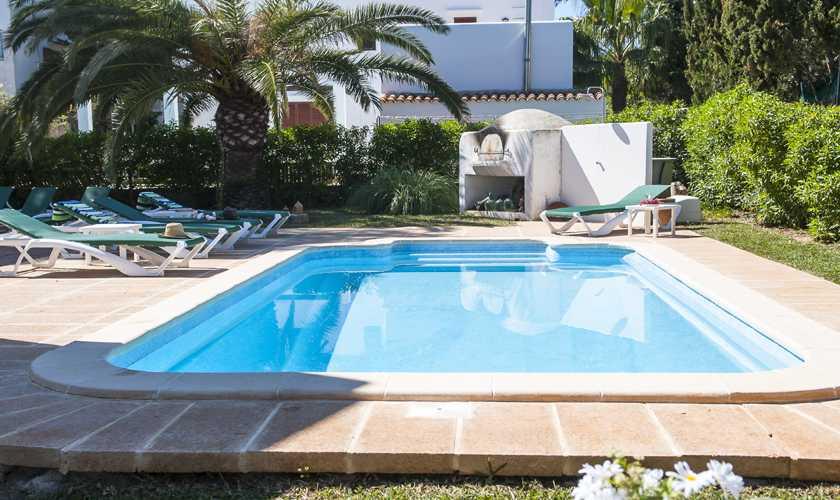 Poolblick Ferienvilla Mallorca Cala d´Or PM 6535