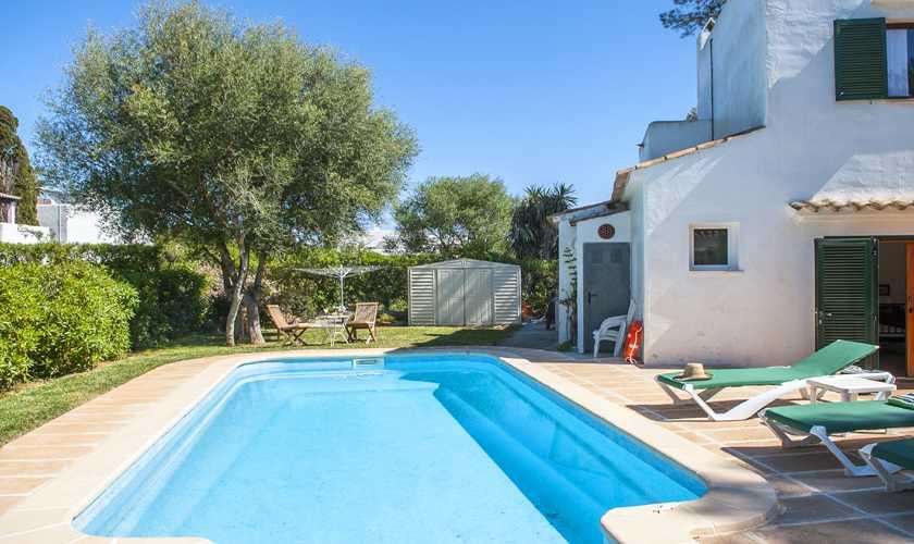 Pool und Ferienvilla Mallorca Cala d´Or PM 6535