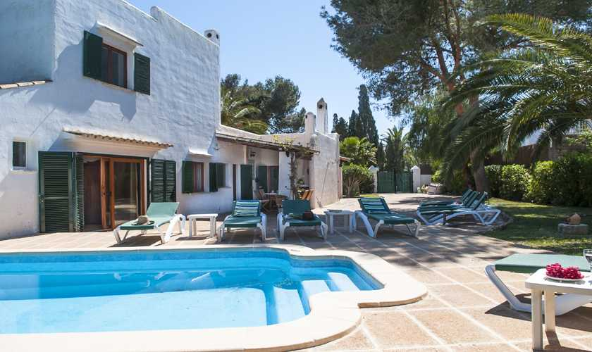 Pool und Villa Mallorca Cala d´Or PM 6535