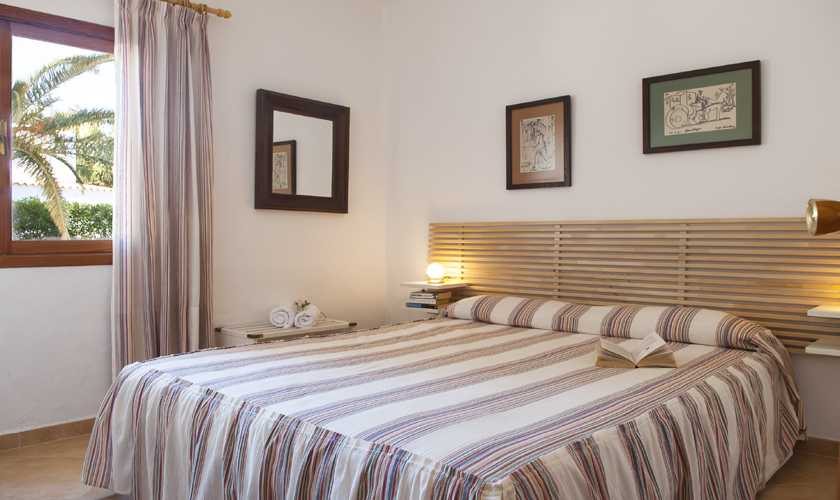 Schlafzimmer Ferienvilla Mallorca Cala d´Or PM 6535
