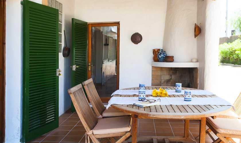 Terrasse Ferienvilla Mallorca Cala d´Or PM 6535