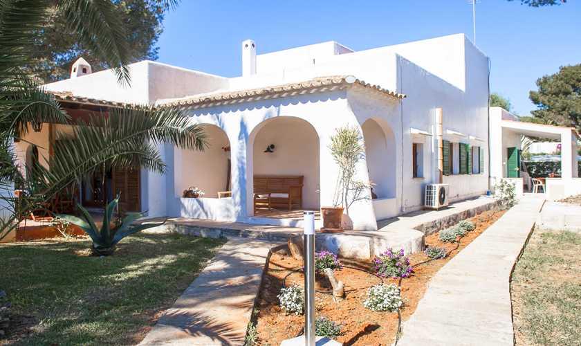 Blick auf die Ferienvilla Mallorca Cala d´Or PM 6535