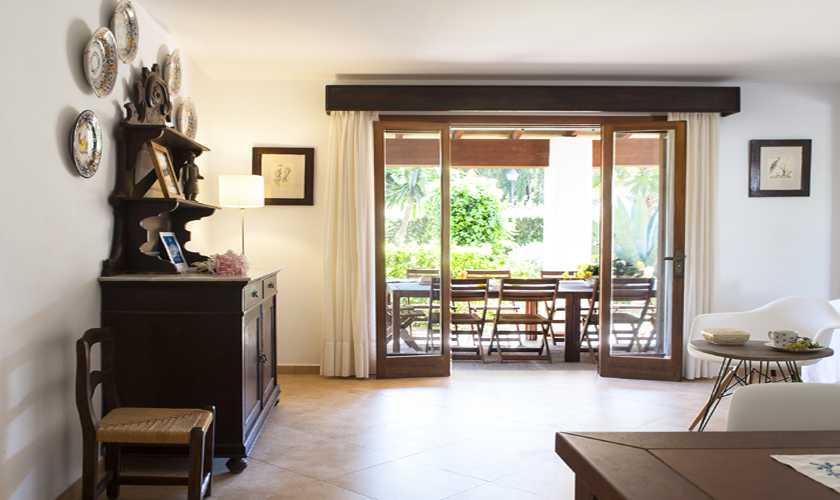 Wohnraum Ferienvilla Mallorca Cala d´Or PM 6535