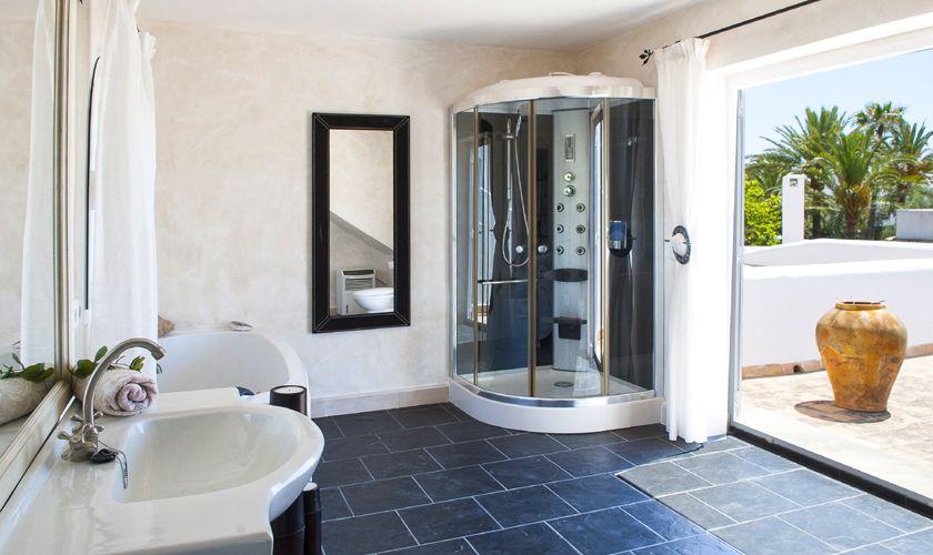 Badezimmer Ferienvilla mit Meerblick Mallorca PM 6536