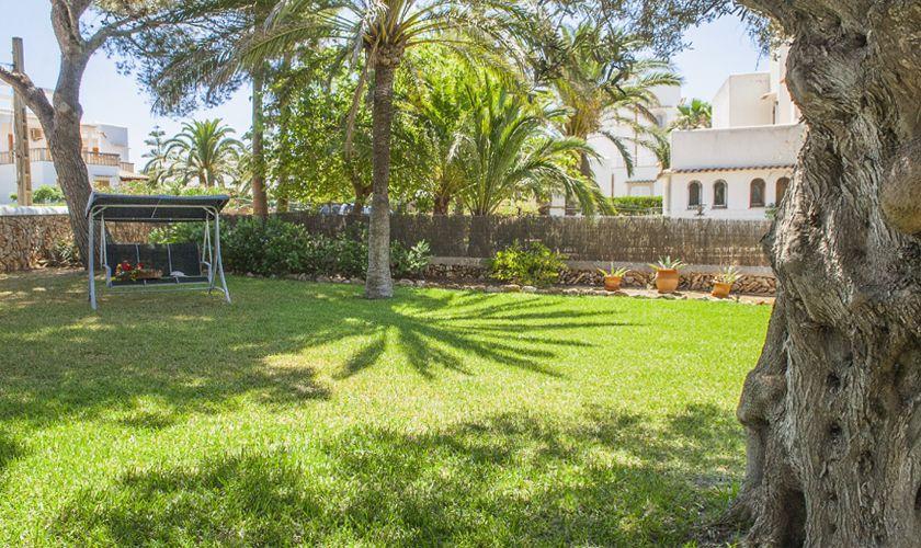 Garten Ferienvilla Mallorca Meerblick PM 6536