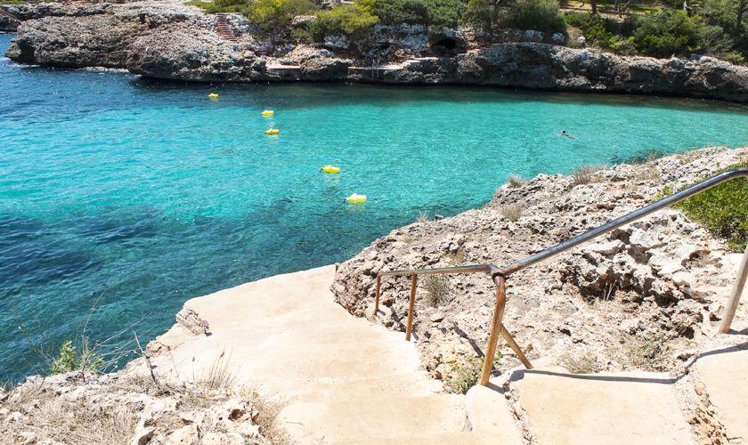Pfad am Meer zum Strand Villa Mallorca PM 6536