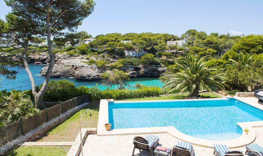 Pool und Meerblick Ferienvilla Mallorca PM 6536