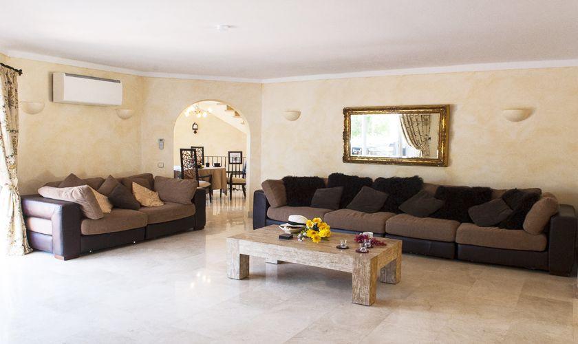 Wohnraum Ferienvilla mit Pool Mallorca PM 6536