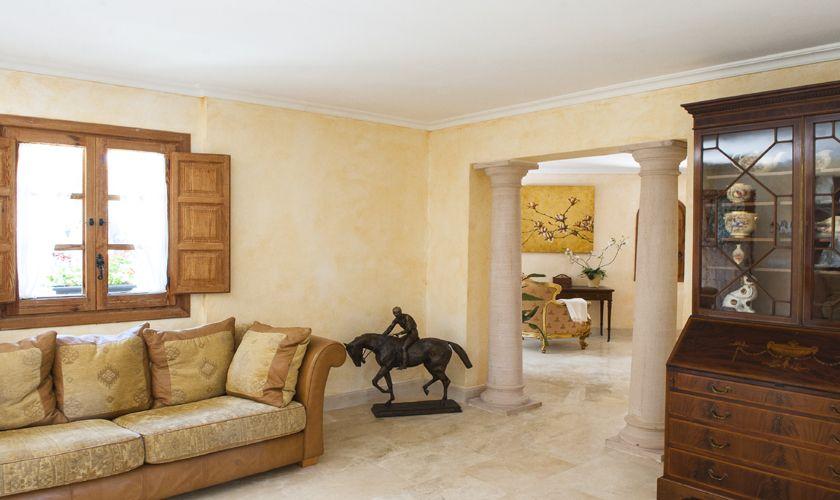 Wohnraum Ferienvilla mit Meerblick Mallorca PM 6536