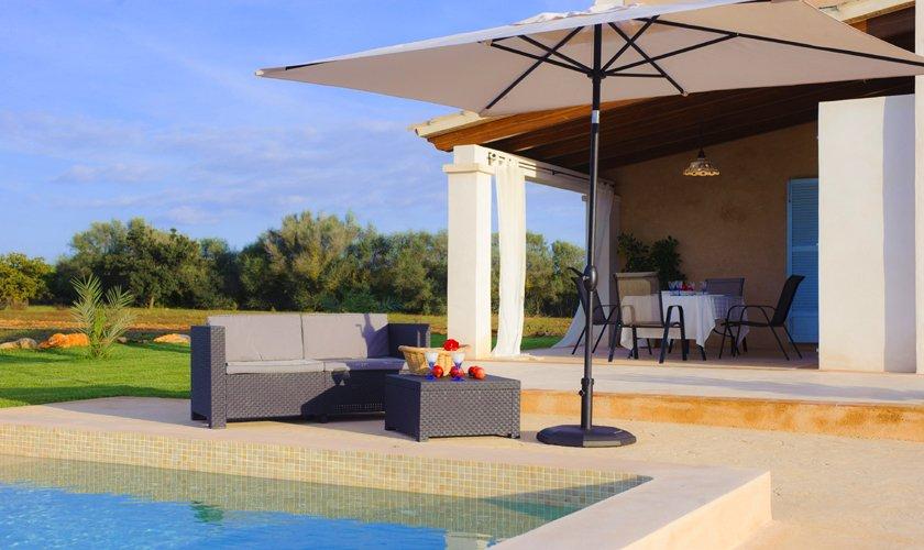 Pool und Terrasse Finca Mallorca PM 6537