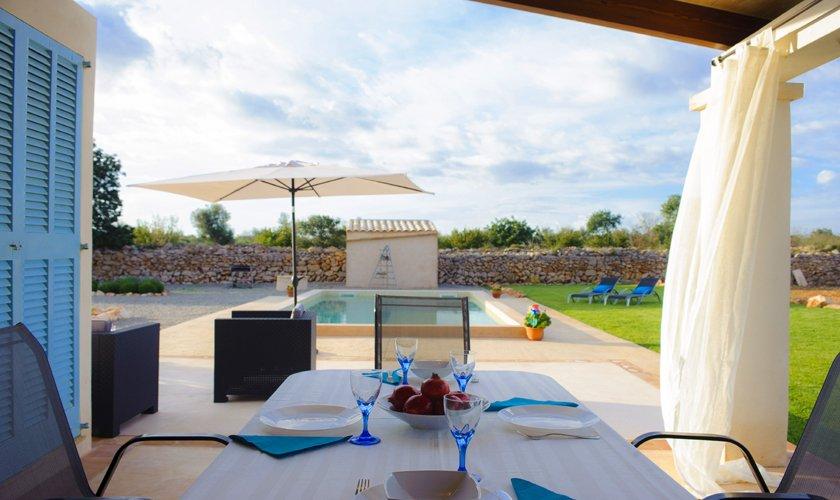Terrasse Finca Mallorca 4 Personen PM 6537