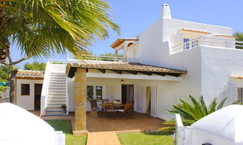 Terrasse und Ferienhaus Mallorca Cala d`Or PM 6538
