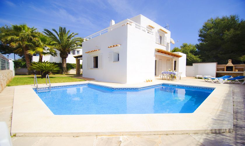 Pool und Ferienhaus Mallorca Cala d`Or PM 6538