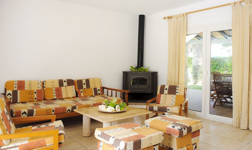 Wohnraum Ferienhaus Mallorca Cala d`Or PM 6538